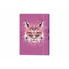 "GUMIS DOSSZIÉ A4 HERLITZ ""Wild Animals"" (Hiúz, 50027958)"