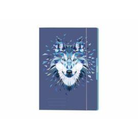 """GUMIS DOSSZIÉ A4 HERLITZ """"Wild Animals"""" (Wolf, 50027972)"""
