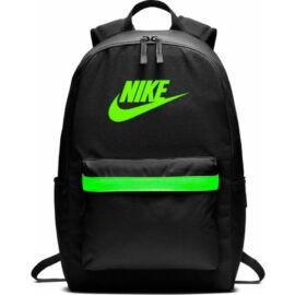 Hátitáska  Nike20  BA5879-010 fekete-libazöld