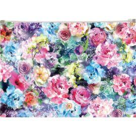 IRATTASAK A4 Panta Plast PP mintás cipzáras (Roses, INP410006347)