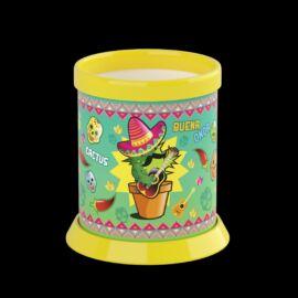 ÍRÓSZERTARTÓ pohár ICO Kaktusz  műa.
