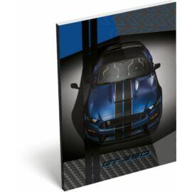 NOTESZ A7 papírfedelű LIZZY FORD (Mustang Blue, 20779303)