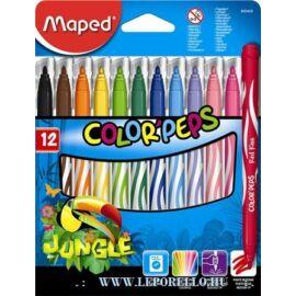 ROSTIRON 12 MAPED Color Peps Jungle 2.8mm mosható