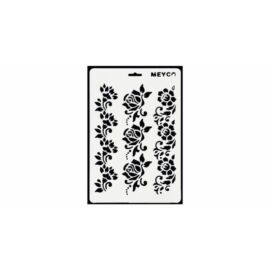 SABLON stencil vegyes minták 1db/csom