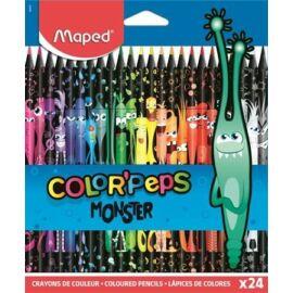"SZÍNES CERUZA 24 MAPED ""Color'Peps Monster"""