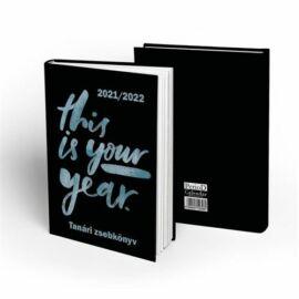 TANÁRI ZSEBKÖNYV 2021-2022 PD mintás (Your Year, P4114-2745)