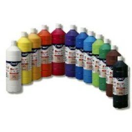 TEMPERA üveges 500ml Creall Basic alap/pasztell színek, -narancssárga-CL30064