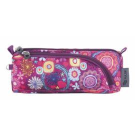 TOLLTARTÓ 2rekeszes  PULSE cippes bedobálós (Purple Flower, PLS121307)
