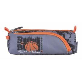 TOLLTARTÓ 2rekeszes  PULSE cipzáras bedobálós (Baskettball League, PLS121472F)
