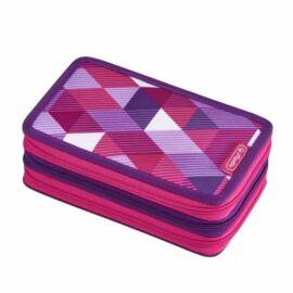 TOLLTARTÓ töltött HERLITZ 31rész 3 emeletes vegyes minta (Pink Cube, 50021062)