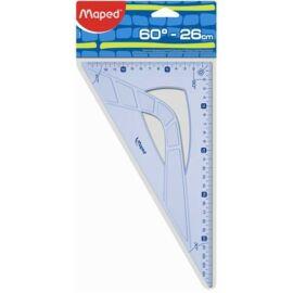 """VONALZÓ háromszög 26/60 MAPED """"Geometric"""""""
