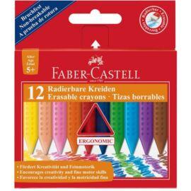 ZSÍRKRÉTA 12 FABER Castell GRIP törölhető 122520