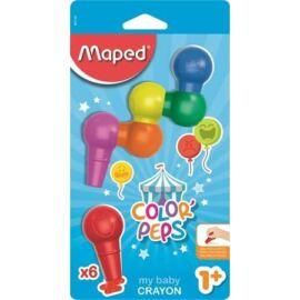 "ZSÍRKRÉTA  6 MAPED  ""Color Peps Baby"""