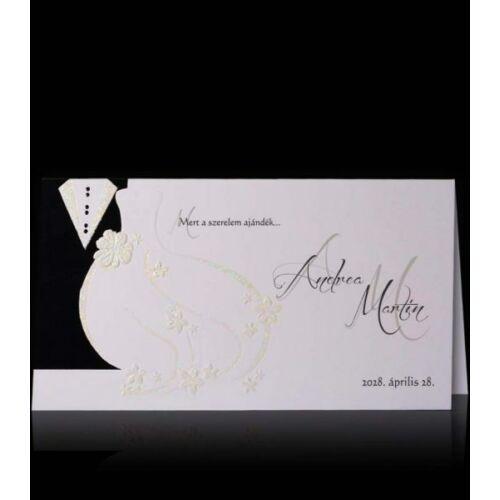 Esküvői meghívó C 2401