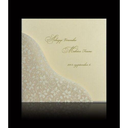 Esküvői meghívó C 7404