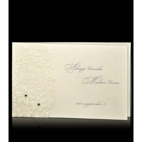 Esküvői meghívó D 7204