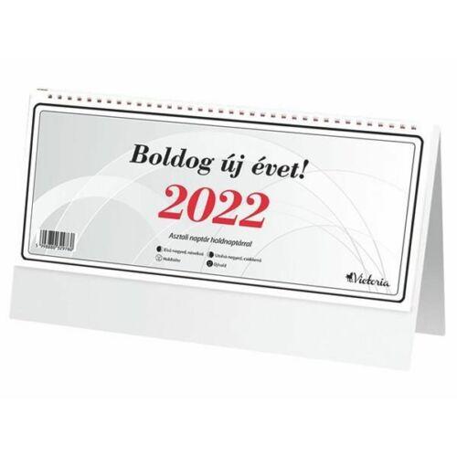 *25354 NAPTÁR asztali  24 Victoria 2022