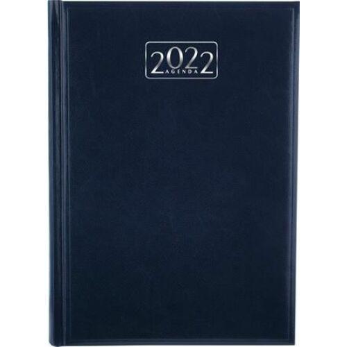 *33515 HATÁRIDŐNAPLÓ 2022 A5 napi VICTORIA tervező kék