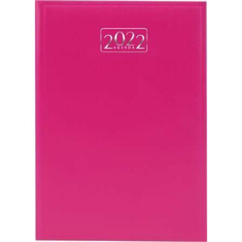 *50636 HATÁRIDŐNAPLÓ 2022 A5 napi VICTORIA tervező pink