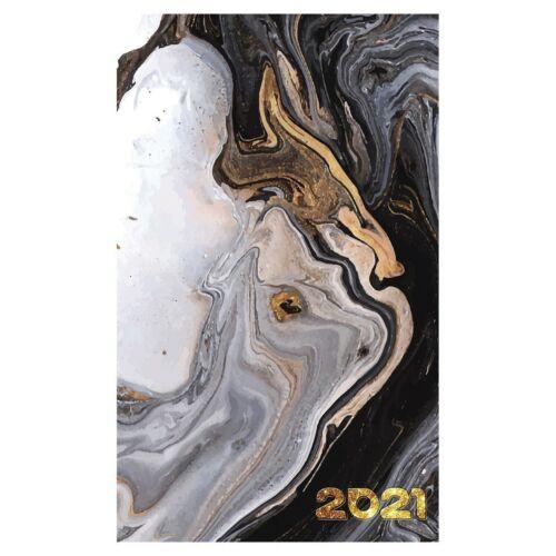ZSEBNAPTÁR 2021 heti álló Realsystem-8811 SP3 spirál mini (márvány, 8811-52)