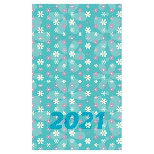 ZSEBNAPTÁR 2021 heti álló Realsystem-8811 SP3 spirál mini (virágok, 8811-53)