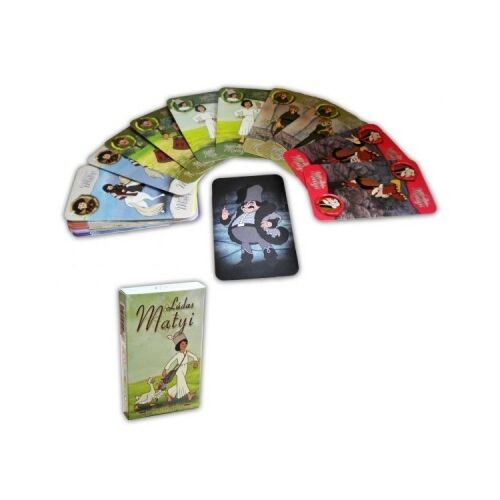 KÁRTYA  Két játék egyben    KVIZ (Ludas Matyi)