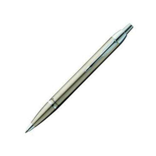 Parker I. M.  Metal Golyóstoll csiszolt fém CT ezüst klipsz+dob  S0856470
