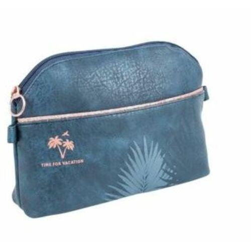 KOZMETIKAI táska LANNOO Sparkle Midnight Gold sötét kék