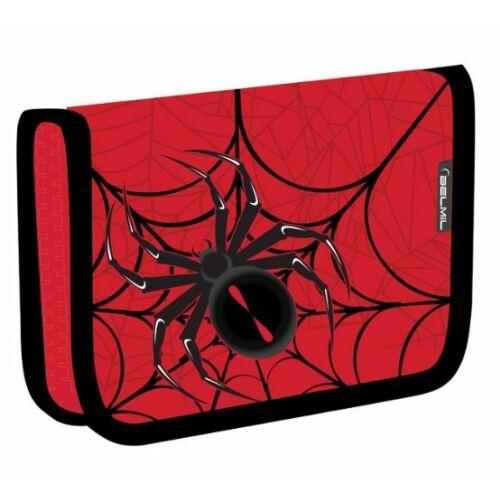 TOLLTARTÓ klapnis2 BELMIL21  335-74 szövet (Spider Red and Black, REFX0354)