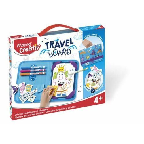 """KREATÍV SZETT MAPED """"Travel Board"""" lovagregény"""