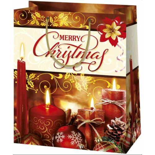 DISZTASAK LAKK közepes karácsonyi P2 CAREX-1192 18*22,5*10cm
