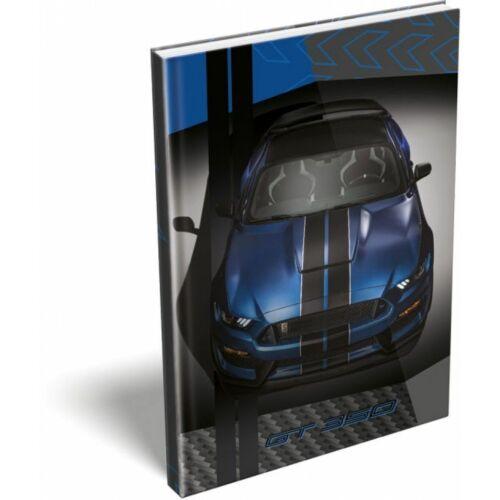 EMLÉK keményfed.notesz A5 LIZZY FORD (Mustang Blue, 20777803)