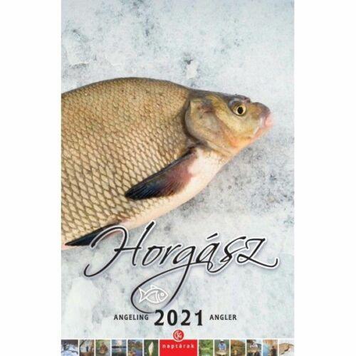FALINAPTÁR 2021 Horgász CSG spirálozott FN099  21*32