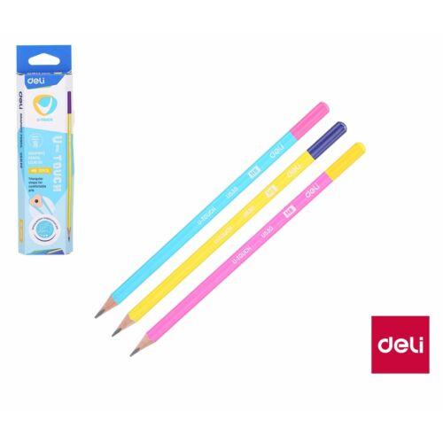 GRAFIT Deli U530 00 HB U-Touch háromszögletű vegyes szín