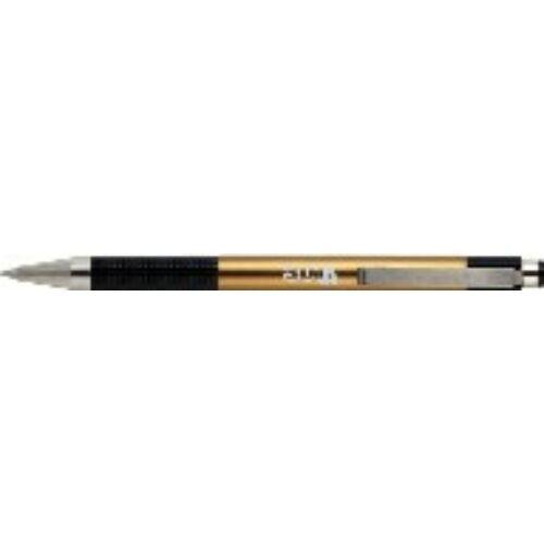 GTOLL ZEBRA F-301A SZINES metál test kék tinta  0,7mm (pezsgő/gold, 182360154)