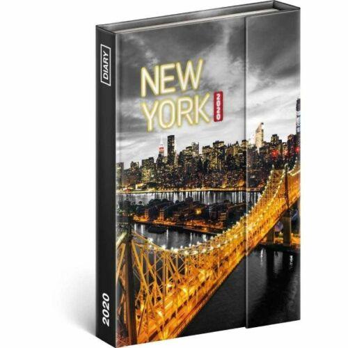 HATÁRIDŐNAPLÓ 2020 TopTimer Magnetic B/6 heti (New York, 288790230)