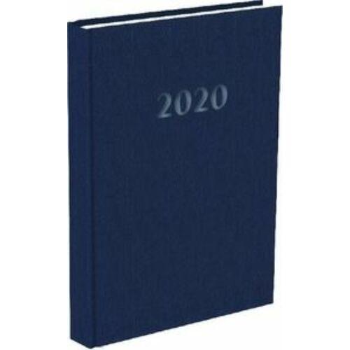 HATÁRIDŐNAPLÓ 2020 A5 napi T-Calendar Prestige Pearl gyöngyház (kék, L03083PP137)
