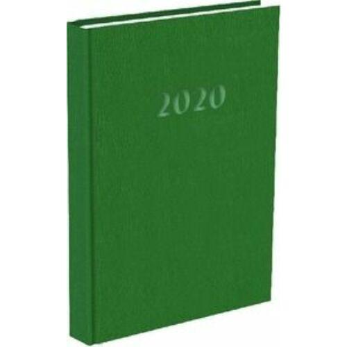 HATÁRIDŐNAPLÓ 2020 A5 napi T-Calendar Prestige Pearl gyöngyház (zöld, L03083PP334)