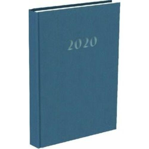 HATÁRIDŐNAPLÓ 2020 A5 napi T-Calendar Prestige Pearl gyöngyház (szürke, L03083PP875)