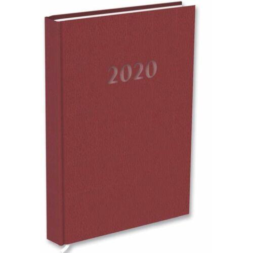 HATÁRIDŐNAPLÓ 2020 A5 napi T-Calendar Prestige Pearl gyöngyház (barna, L03083PP831)