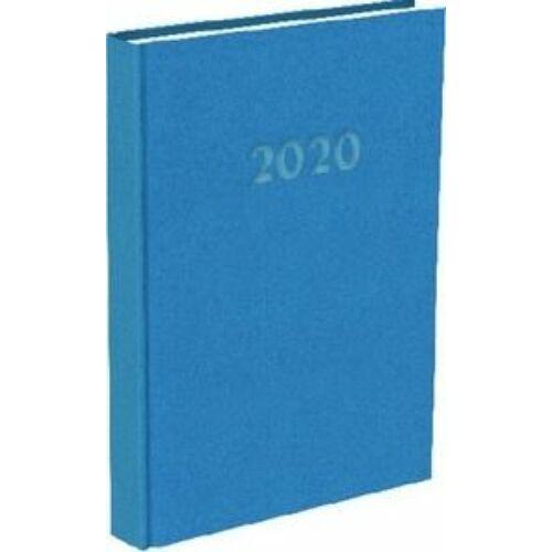 HATÁRIDŐNAPLÓ 2020 A5 napi T-Calendar Reflection Trend (középkék, L03891102)
