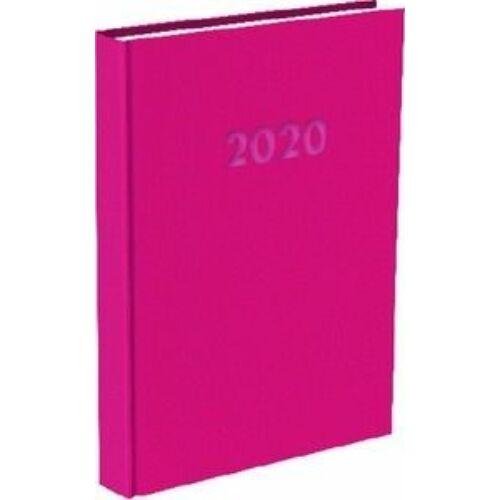 HATÁRIDŐNAPLÓ 2020 A5 napi T-Calendar Reflection Trend (magenta, L03891671)