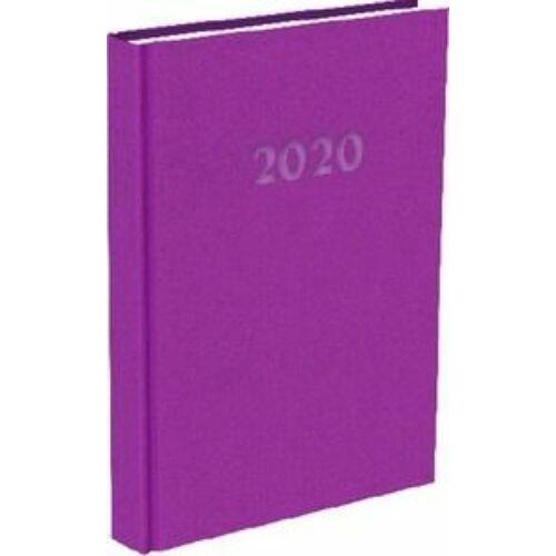 HATÁRIDŐNAPLÓ 2020 A5 napi T-Calendar Reflection Trend (bíbor, L03891730)