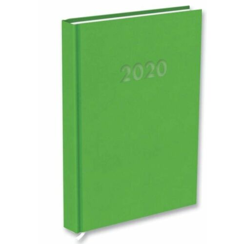 HATÁRIDŐNAPLÓ 2020 A5 napi T-Calendar Reflection Trend (lime, L03891330)