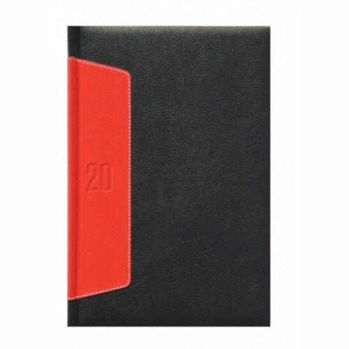 HATÁRIDŐNAPLÓ 2020 B5 heti TOPTIMER Wind W011 (fekete/piros, 288211115)