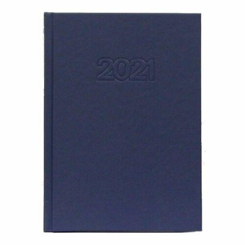 HATÁRIDŐNAPLÓ 2021 A5 napi OFFICE 21 (kék, 288530100)