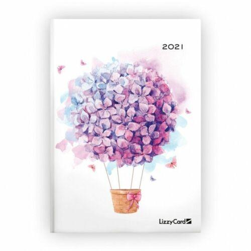 HATÁRIDŐNAPLÓ 2021 B6 heti Lizzy (Flower Ballon, 20848099)
