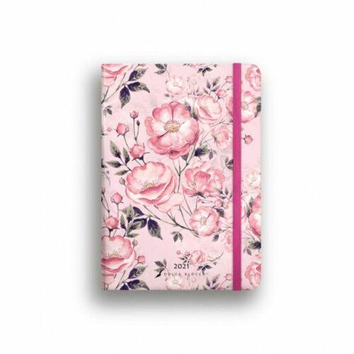 HATÁRIDŐNAPLÓ 2021 B6 napi SECRET Diary LIZZY Dolce Blocco gumis,kerekitett (Rosa Rosato, 20844599)