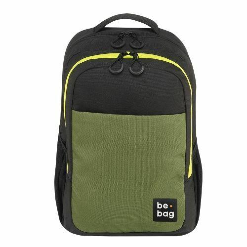 Hátitáska HERLITZ be.bag ST1 Black fekete-oliva 18l