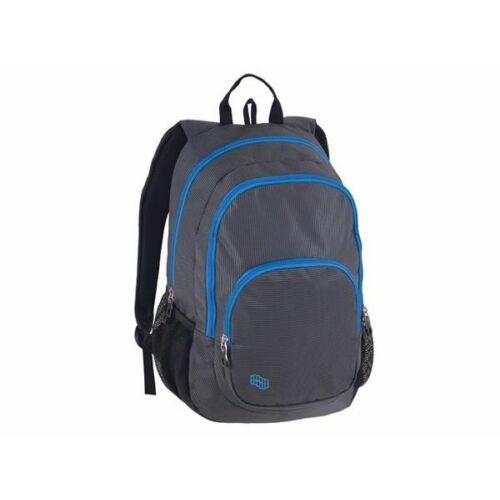 """Hátitáska Pulse """"Fusion"""" notebook tartóval (kék/szürke, PLS121005)"""